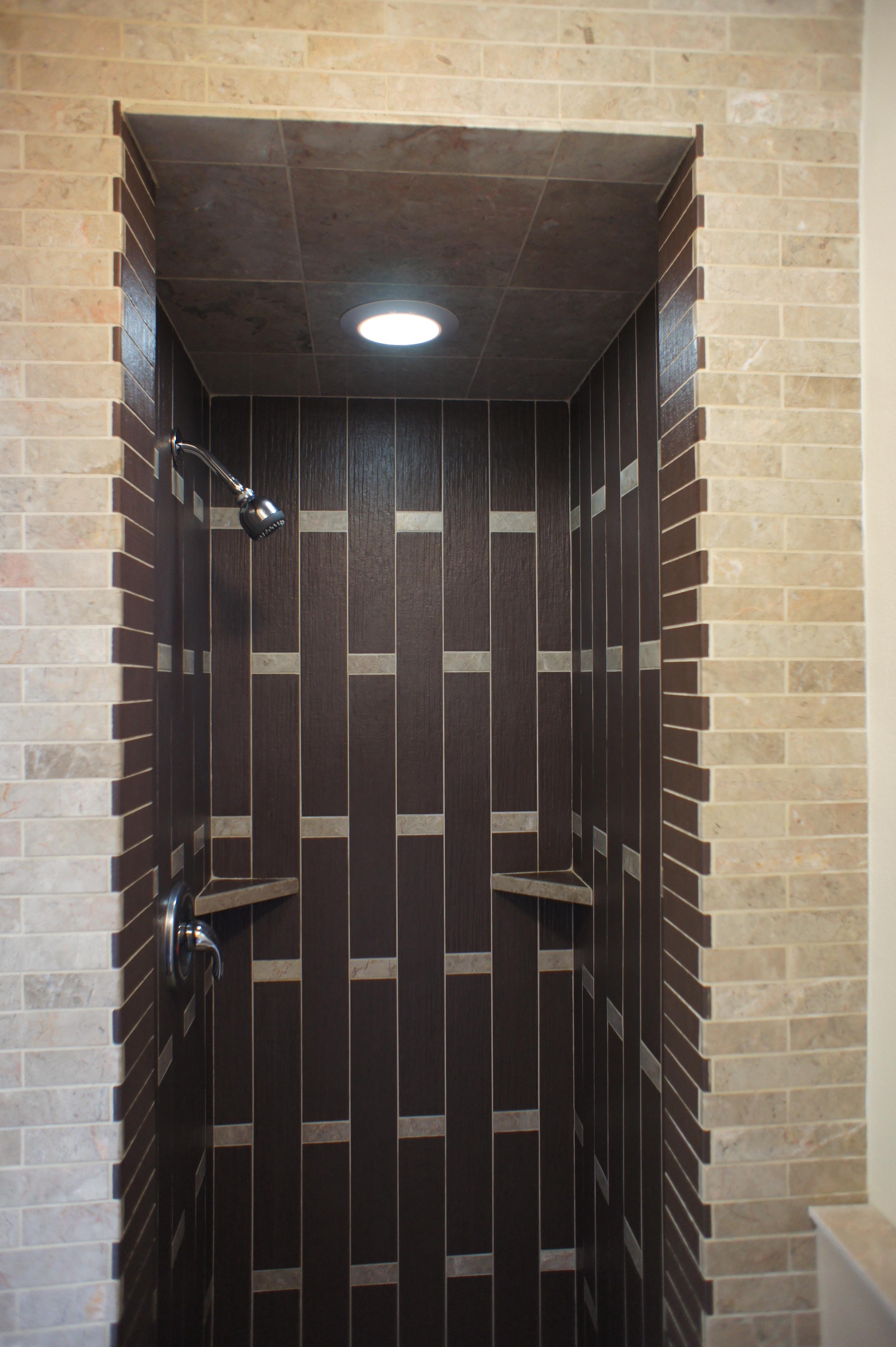 Custom Tile Shower Rhone Design - Custom tiled shower designs